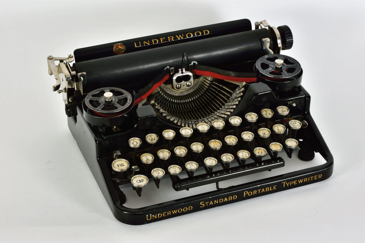 Underwood Standard Portable, 1919