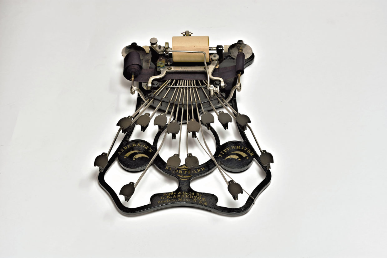 Anderson's Shorthand Typewriter, 1889