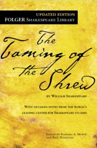 taming of the shrew book cover
