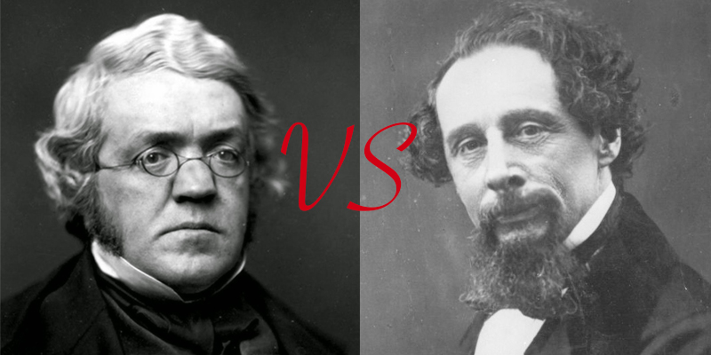 William Thackeray vs. Charles Dickens