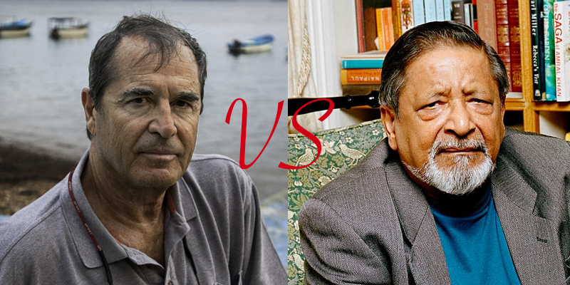 theroux vs. naipaul
