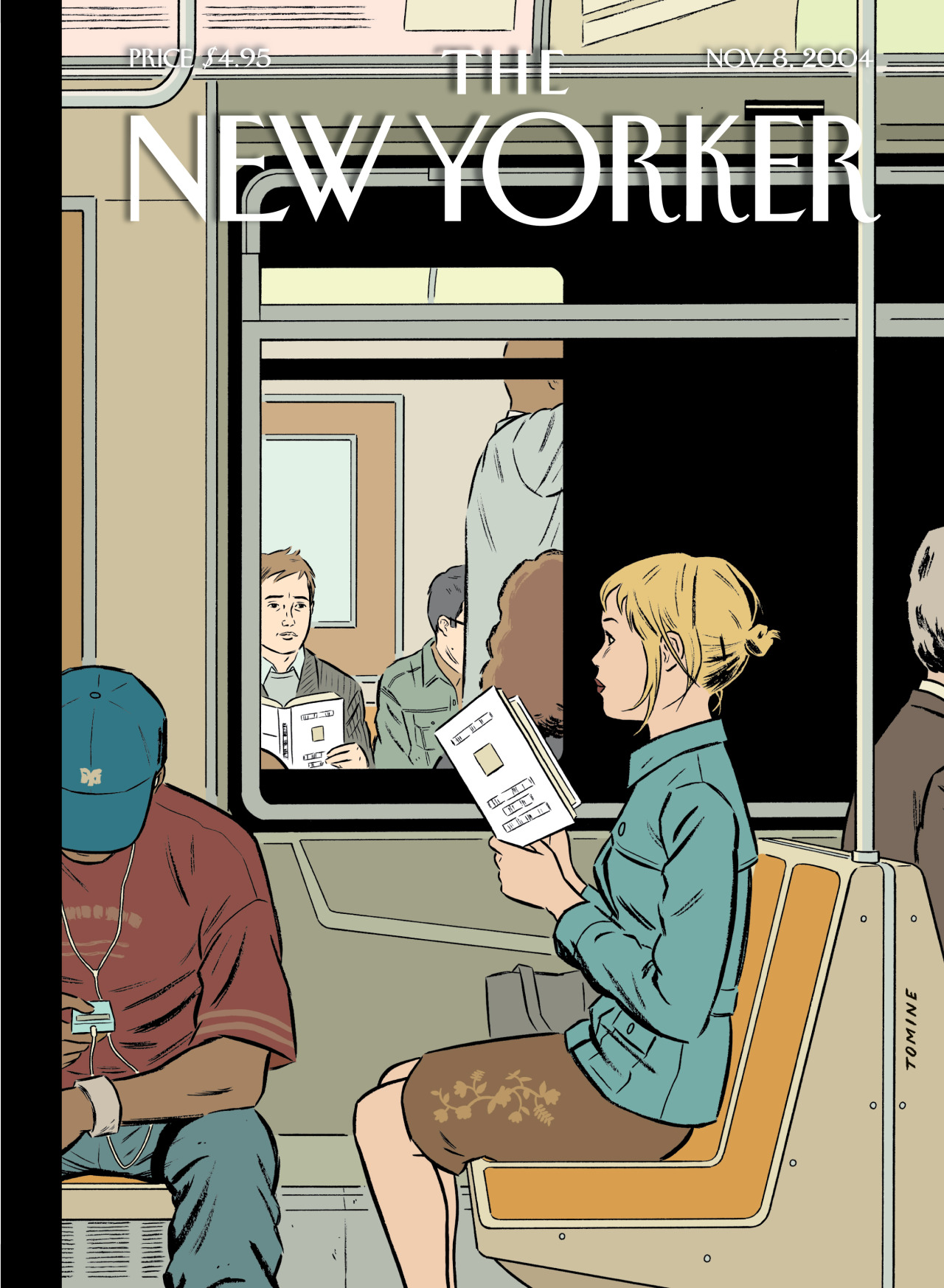 """""""Missed Connection,"""" by Adrian Tomine, November 8, 2004"""