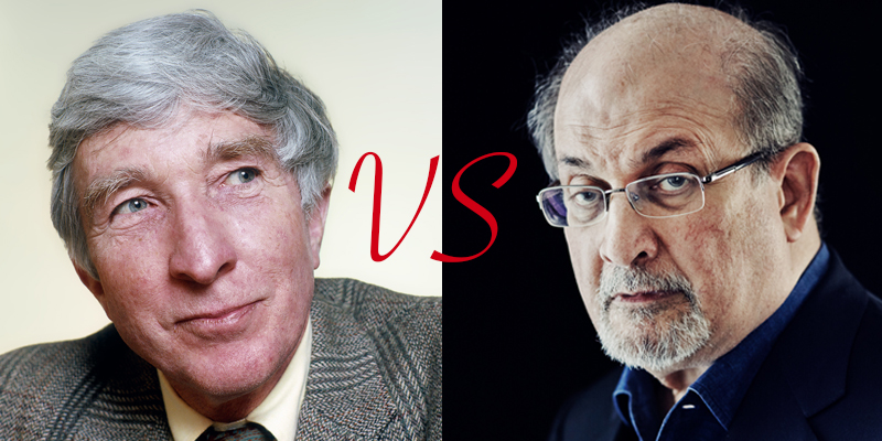 Updike vs. Rushdie