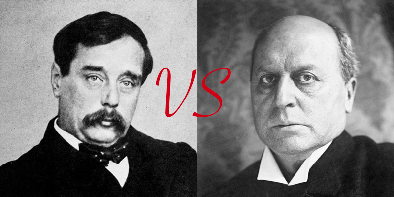 H.G. Wells vs. Henry James