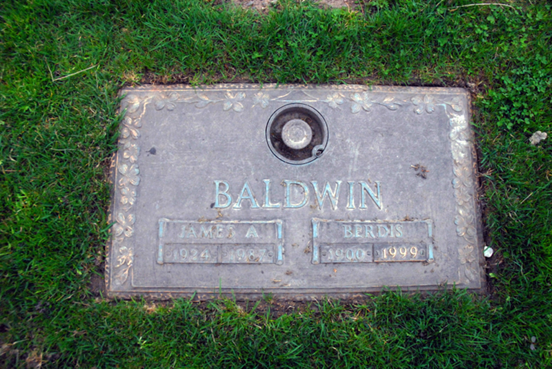 james baldwin grave