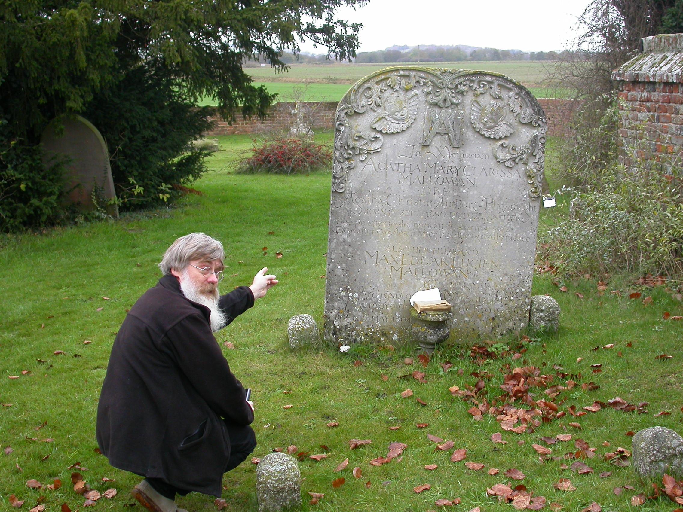 agatha christie grave
