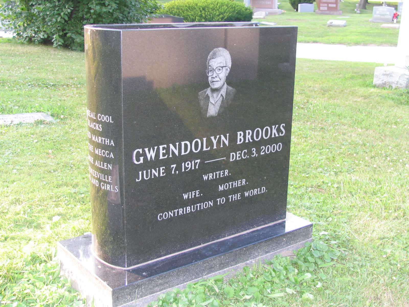 gwendolyn brooks grave