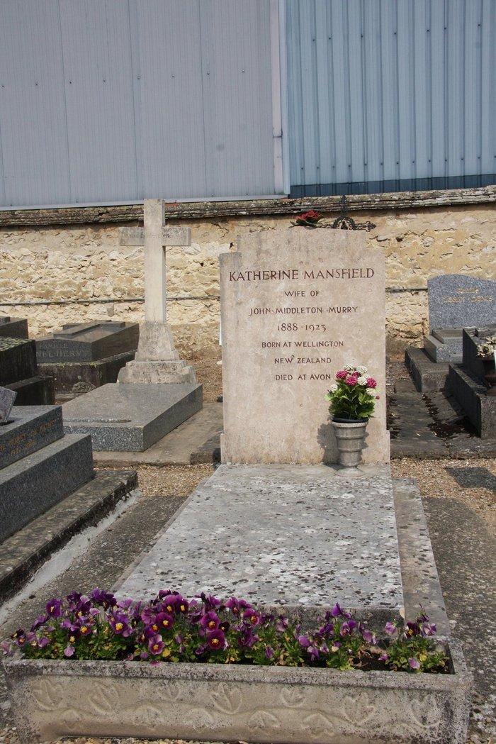 Katherine Mansfield grave