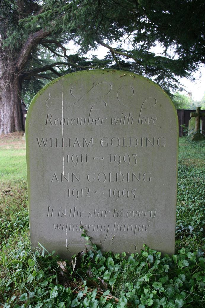 william golding grave