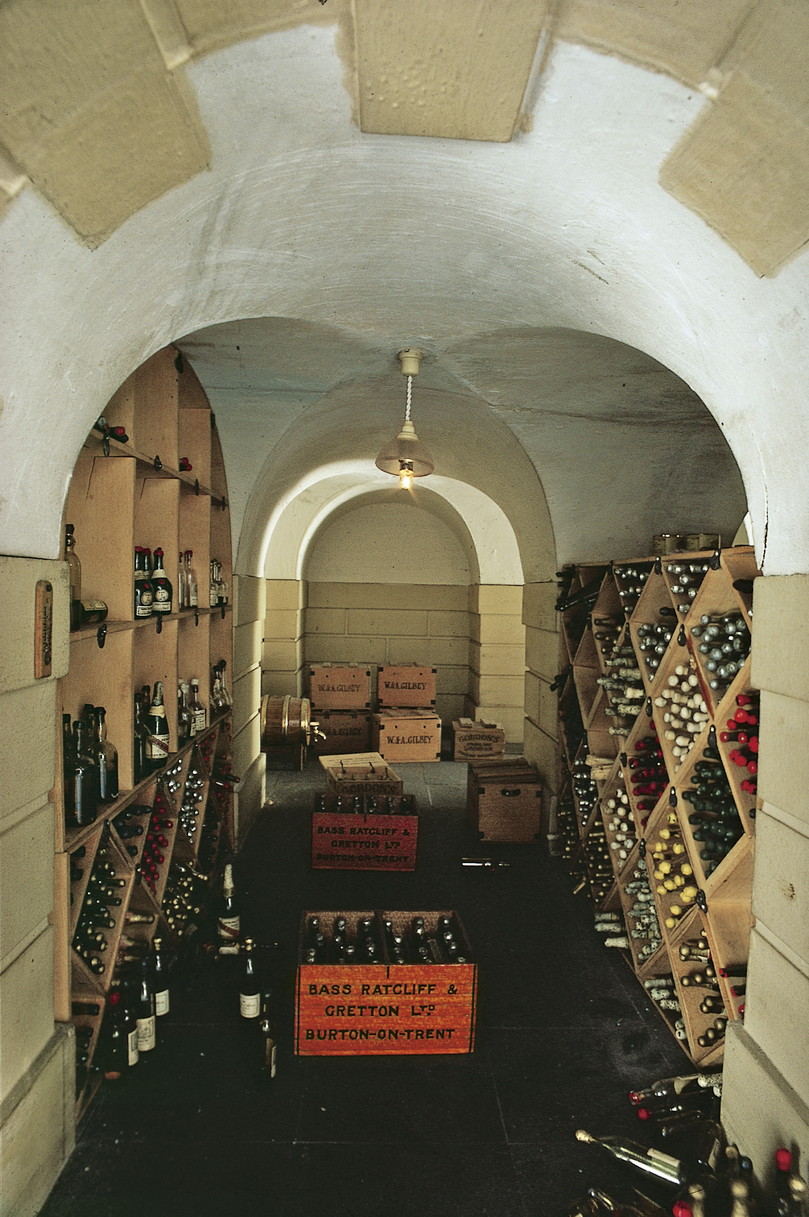 Queen Mary's Dollhouse Wine Cellar