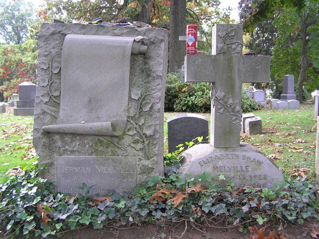 herman melville grave