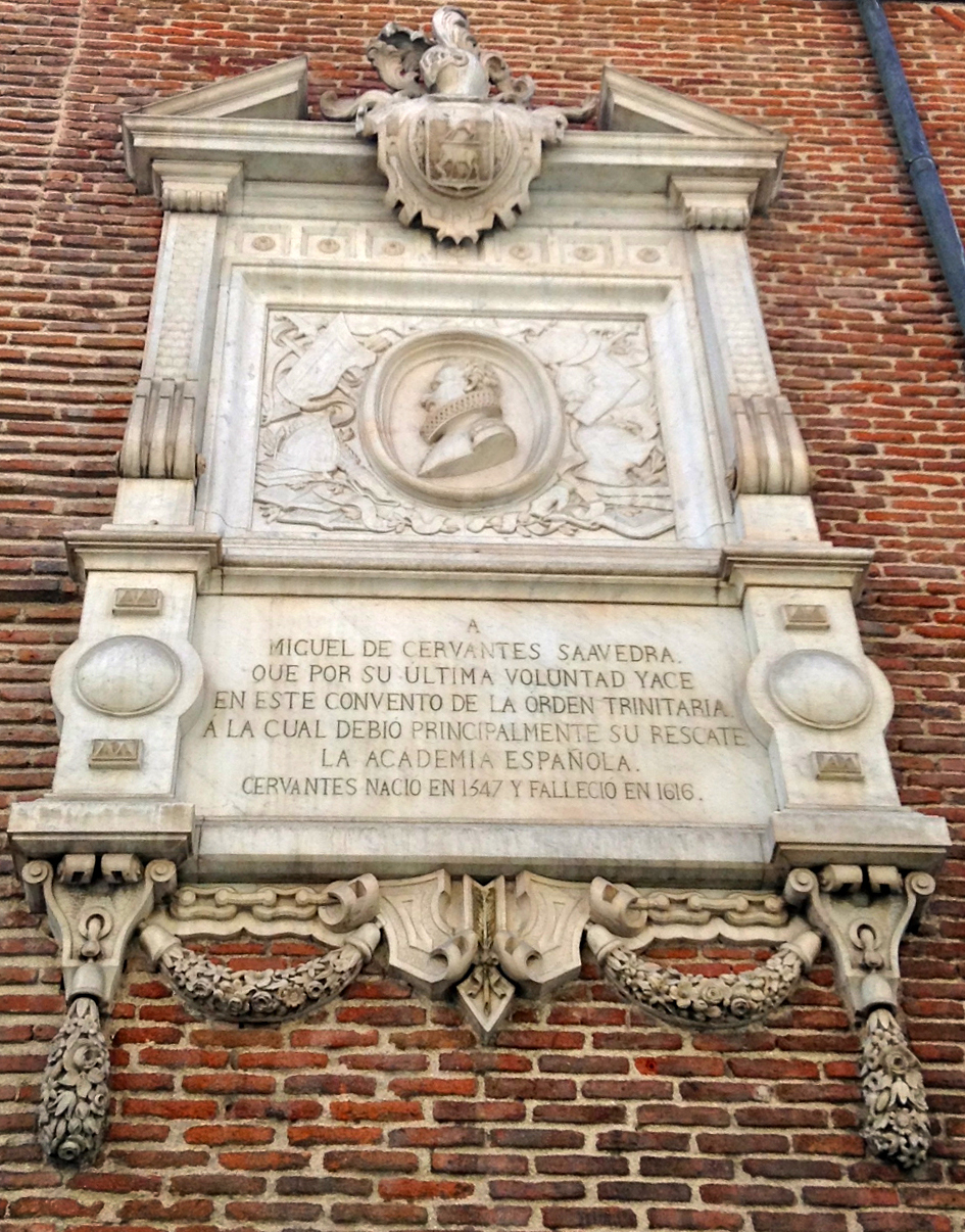 cervantes plaque