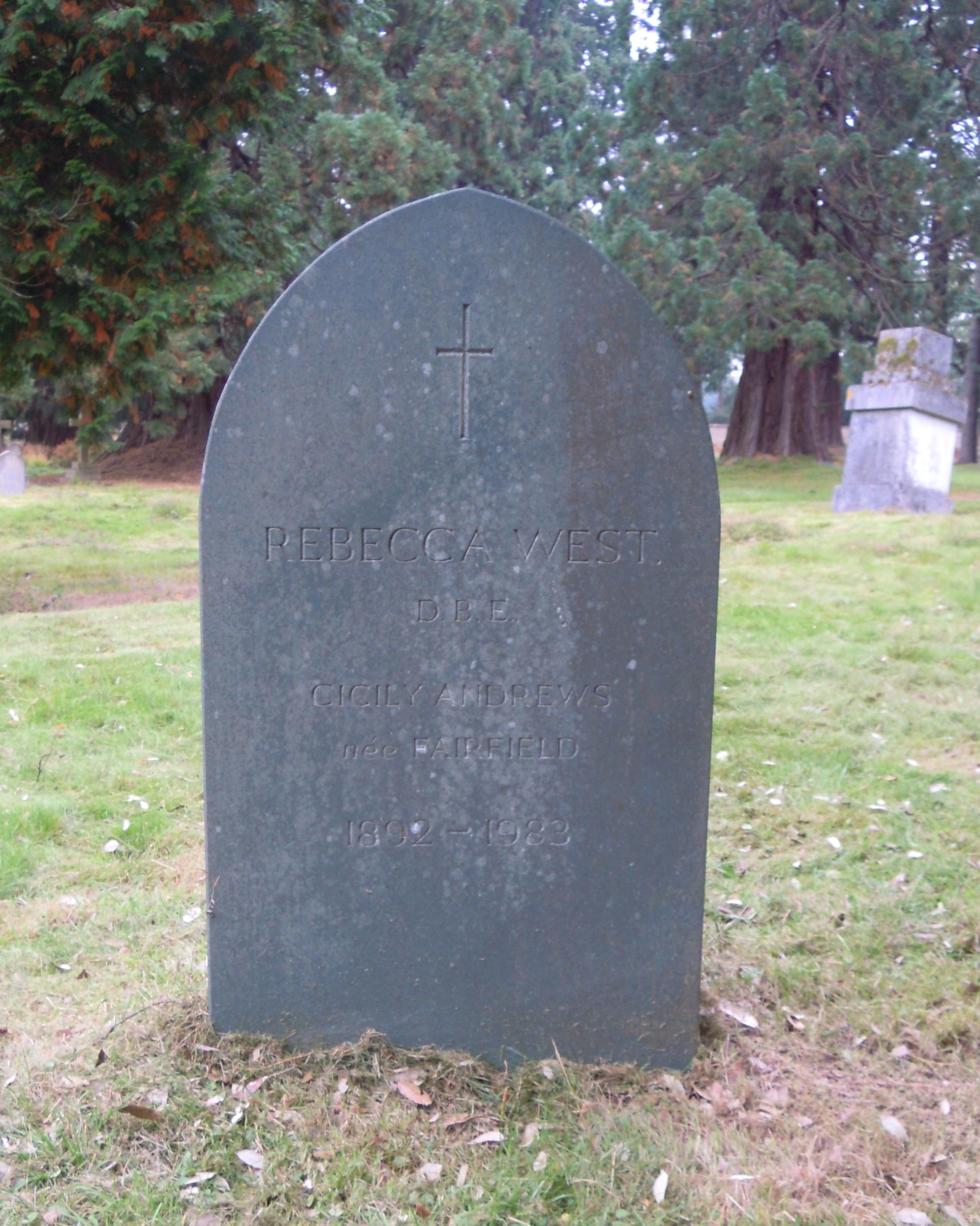 rebecca west grave