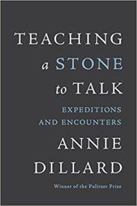 Teaching a Stone to Talk Annie Dillard