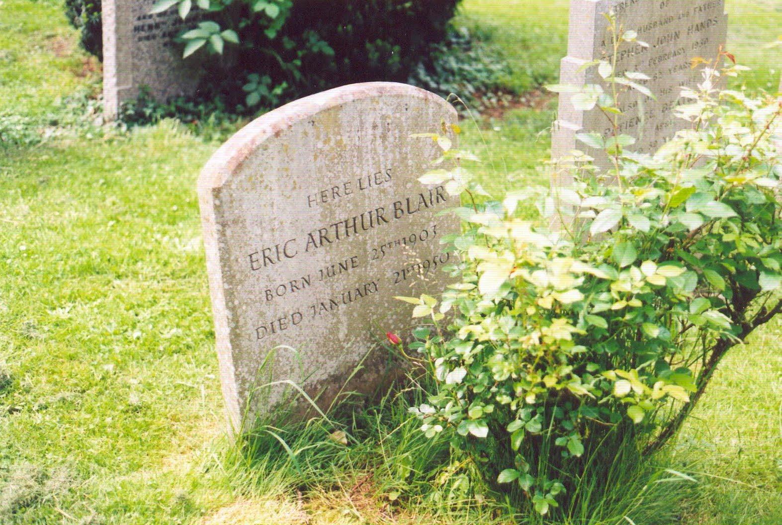 george orwell grave