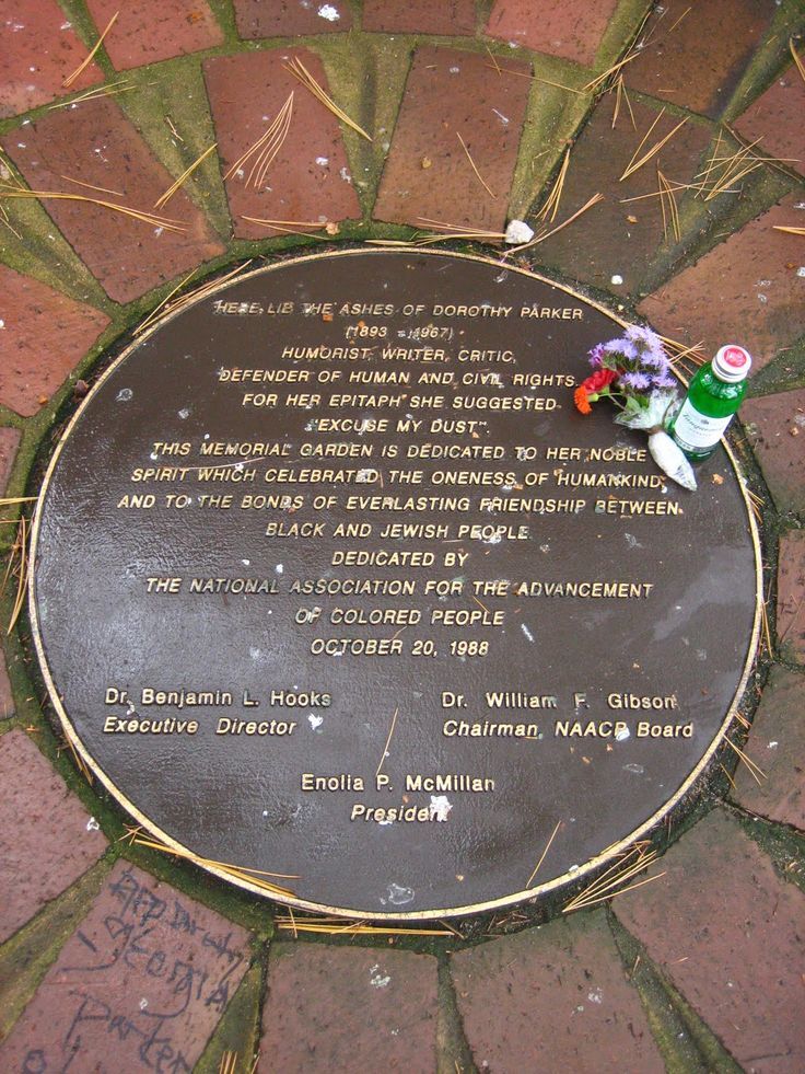 Dorothy parker grave