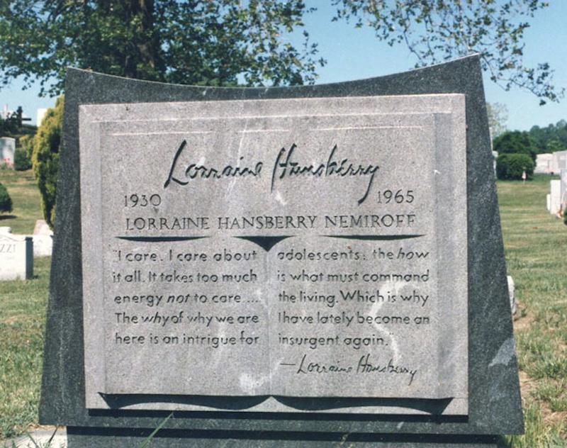 lorraine hansberry grave