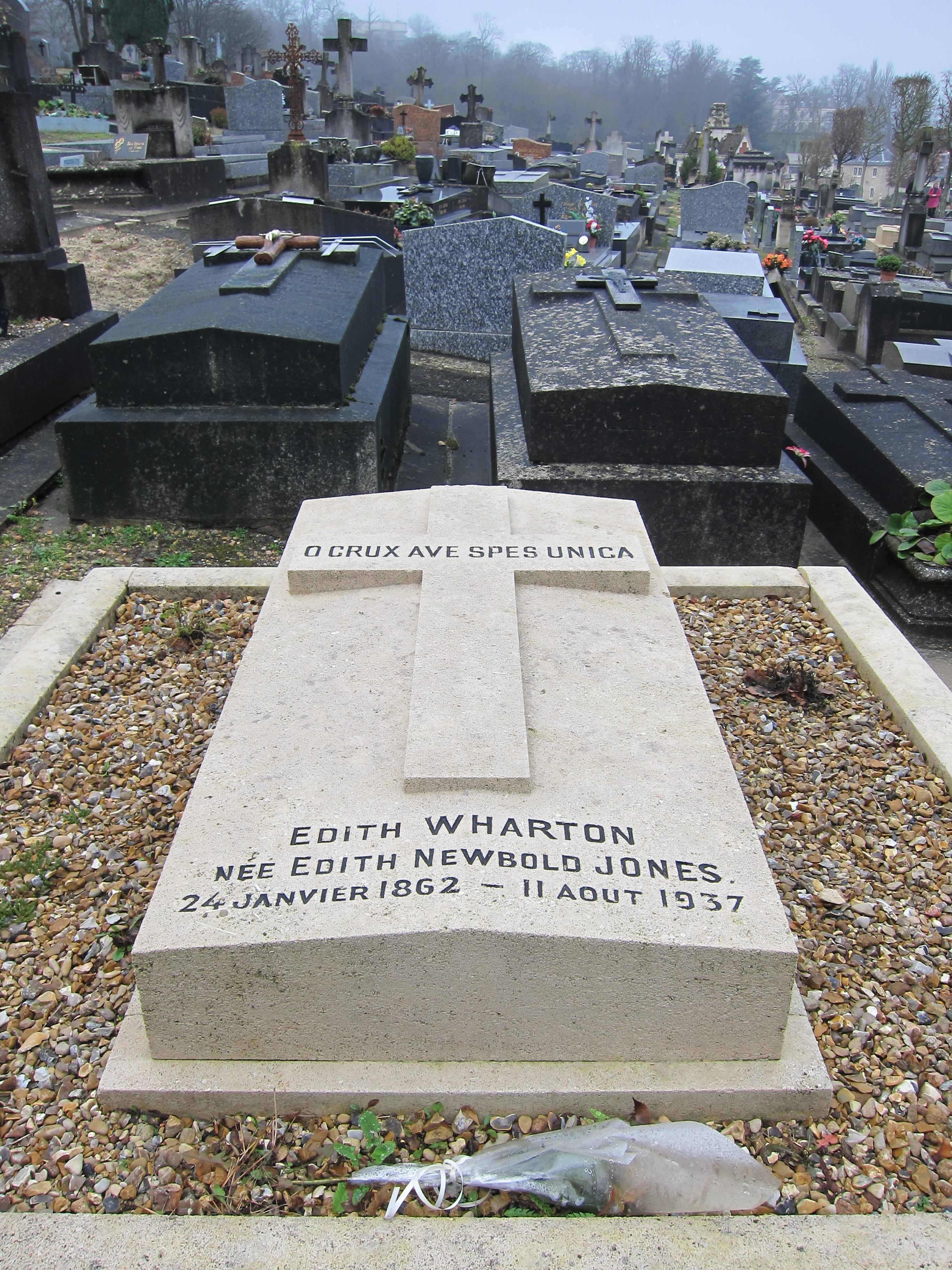 edith wharton grave