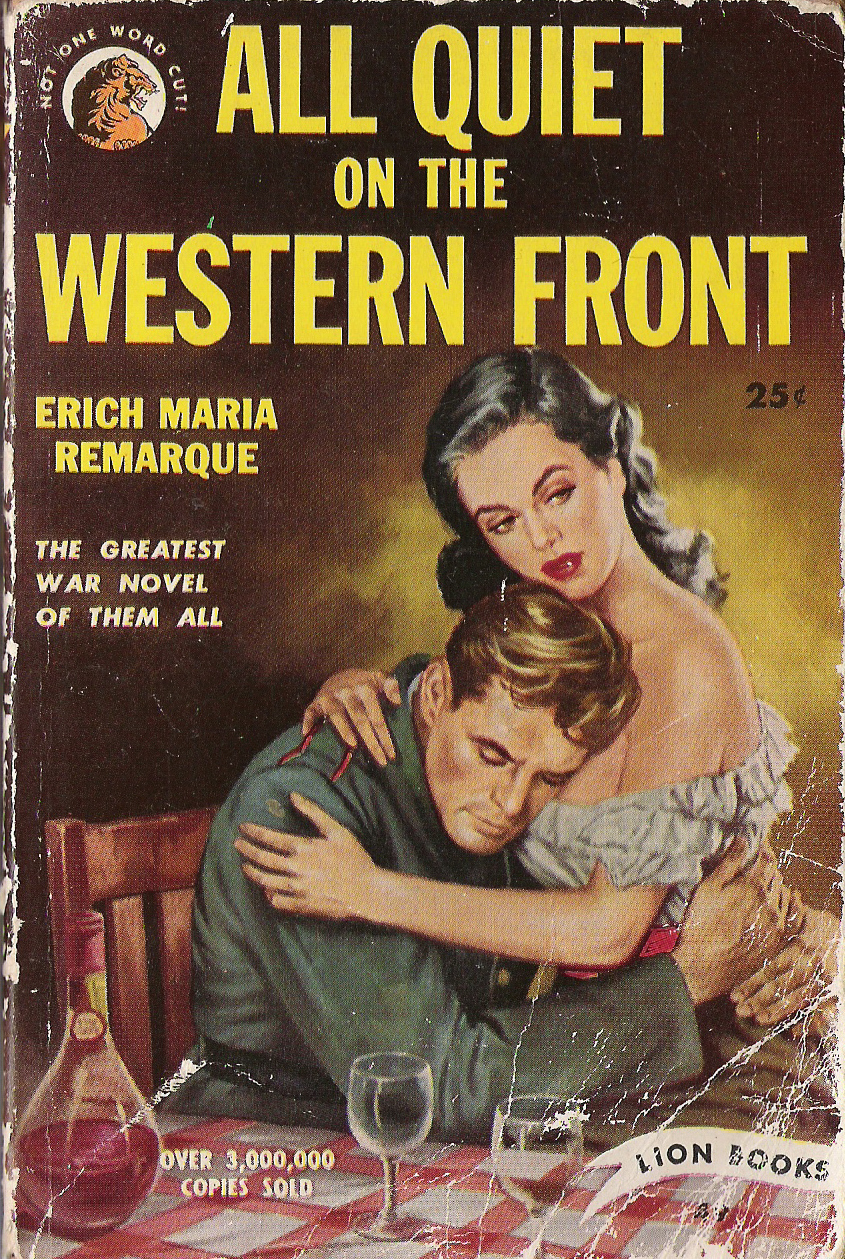 all quiet on the western front pulp