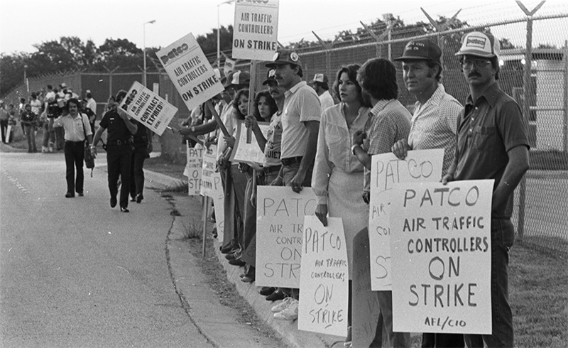 Air Traffic Controllers Strike 1981