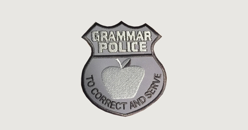 Attention Grammar Pedants The English Language Isnt Logical