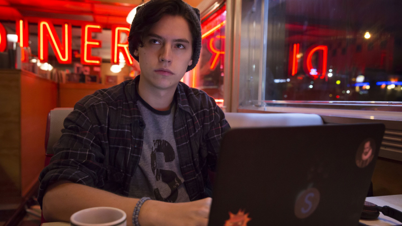jughead jones writer riverdale