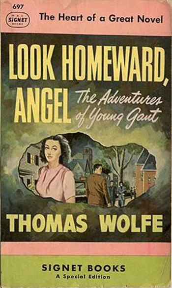 look homeward angel pulp