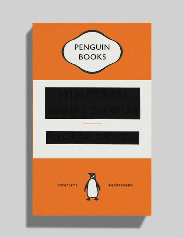 1984 by George Orwell, designed by David Pearson