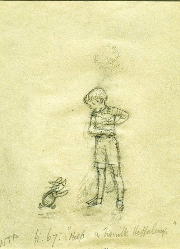 Some of the First Sketches of Winnie-the-Pooh | Literary Hub