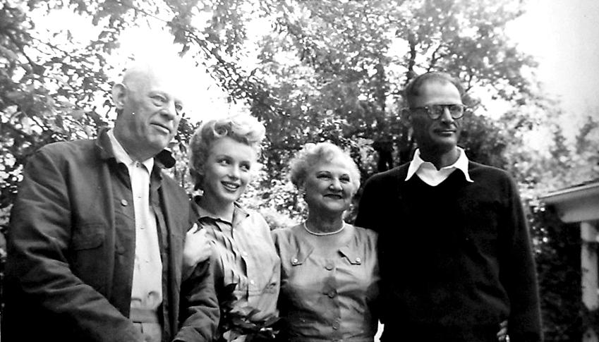 arthur miller family