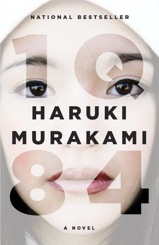 IQ84 by Haruki Murakami, designed by Chip Kidd