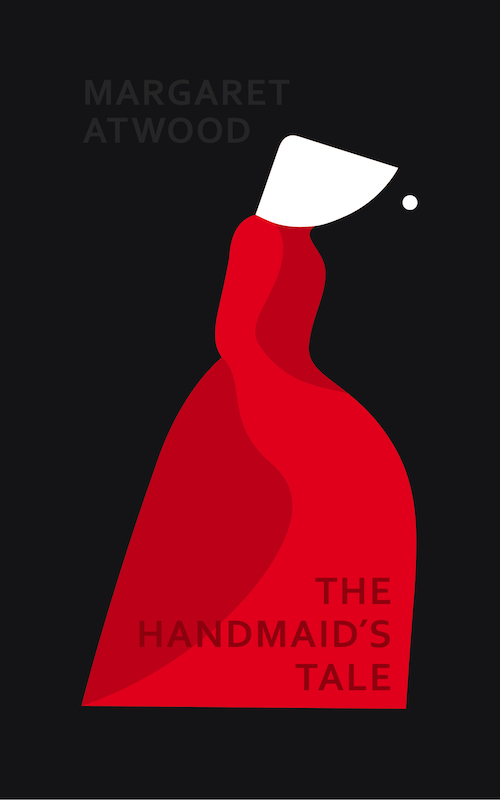 The Handmaid's Tale by Margaret Atwood, designed by Noma Bar
