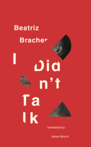Beatriz Bracher I Didn't Talk