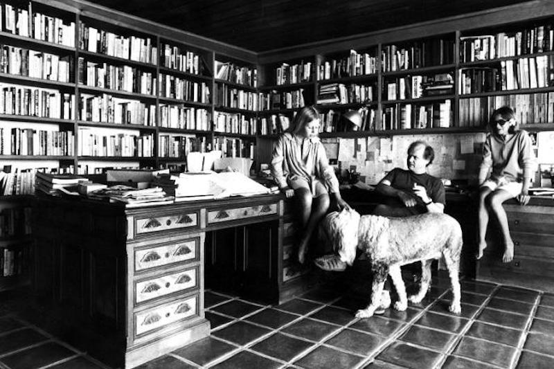 12 Famous Authors At Work With Their Dogs Literary Hub