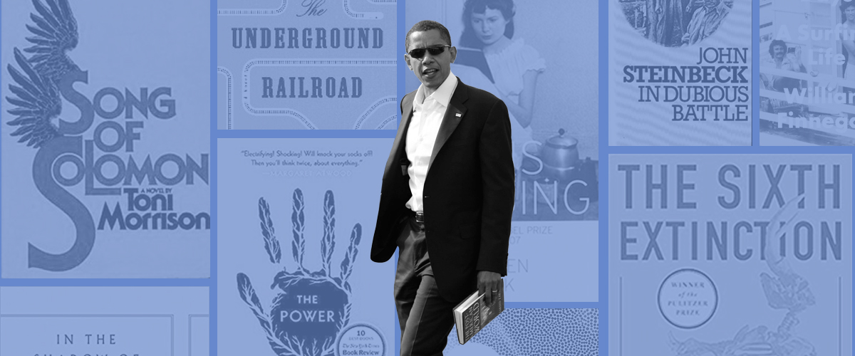 All of the Books President Obama Thinks You Should Read