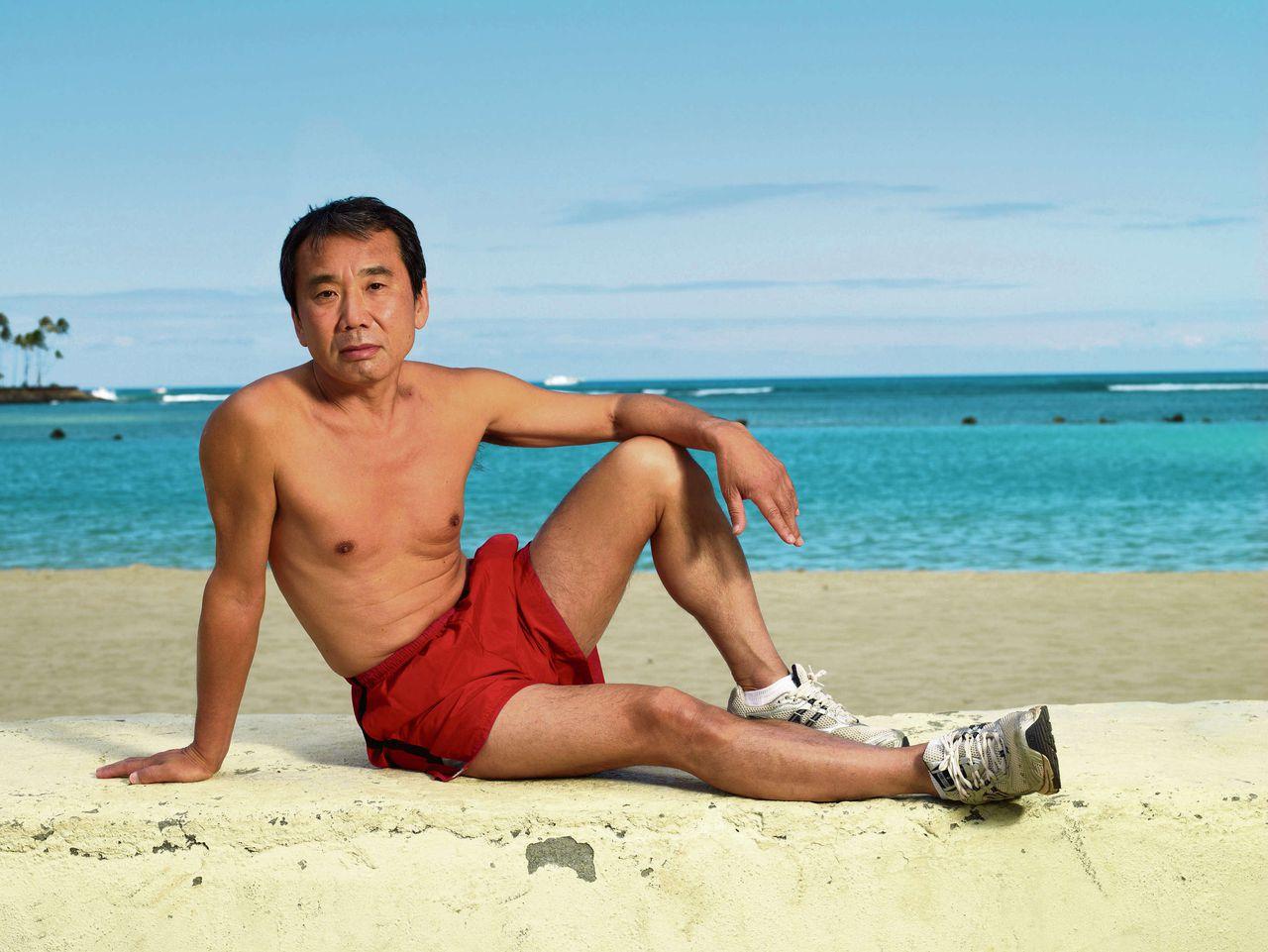 Haruki Murakami beach