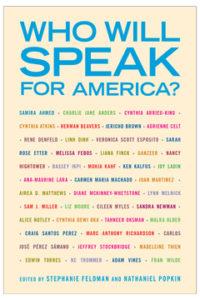 Who Will Speak for America