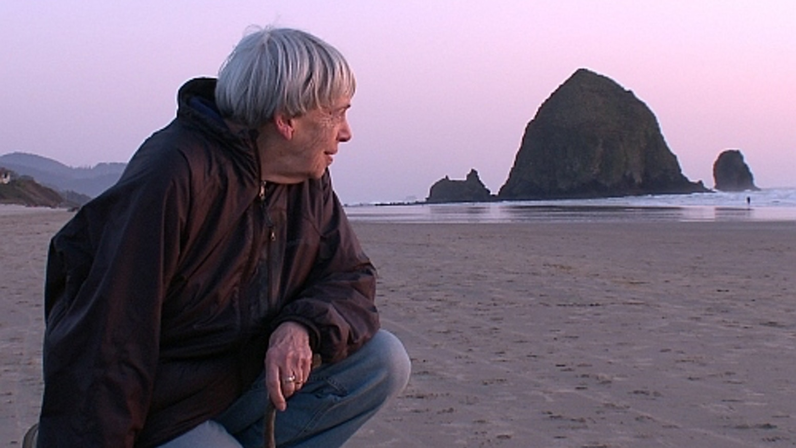 Ursula K. Le Guin, still from Worlds of Ursula K. Le Guin, dir. Arwen Curry