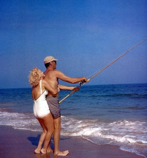 marilyn monroe arthur miller beach