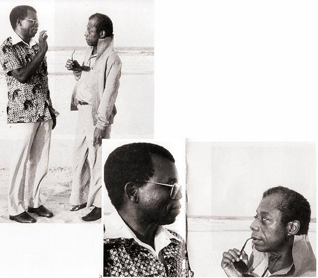 Chinua Achebe and James Baldwin's first meeting, in 1980