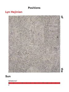 Lyn Hejinian Positions of the Sun