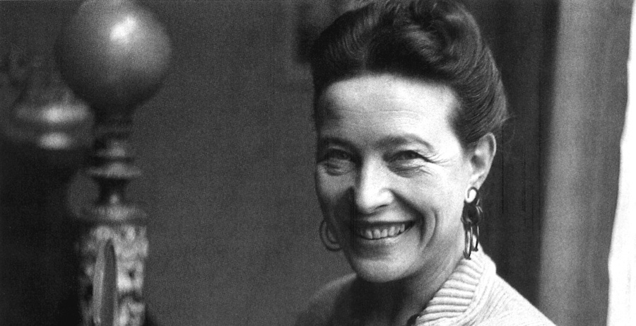 Image result for Simone de Beauvoir