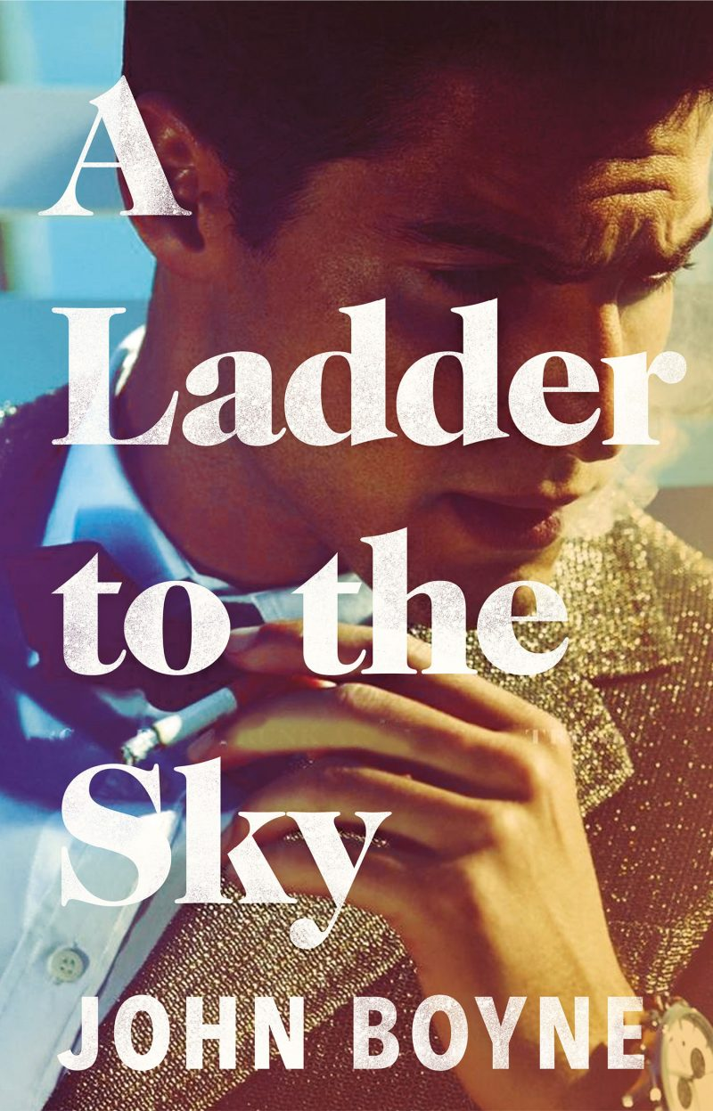 John Boyne, A Ladder to the Sky; design by Jo Thomson (Doubleday)