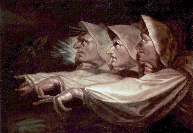 """The Three Witches,"" by Johann Heinrich Fussli, 1783"