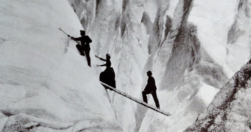 Image result for 1800s female mountaineers in dresses