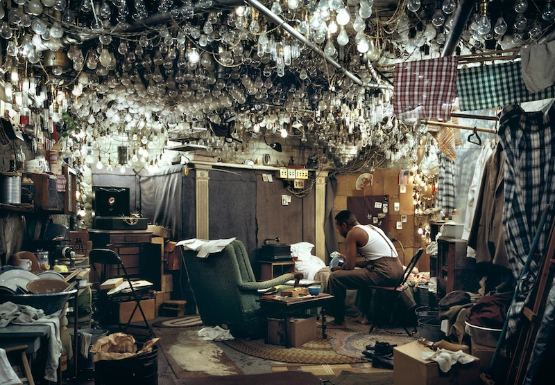 """""""After <em>Invisible Man</em> by Ralph Ellison, the Prologue,"""" by Jeff Wall, 1946"""