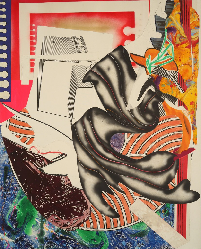 """""""Moby Dick,"""" by Frank Stella, 1989"""
