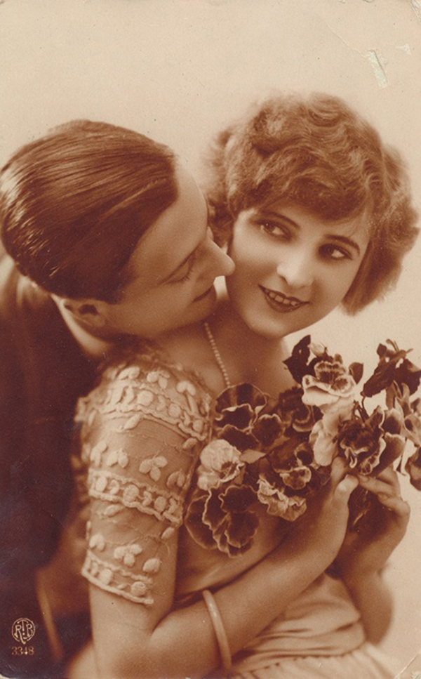 Zelda Sayre and F. Scott Fitzgerald on their wedding day