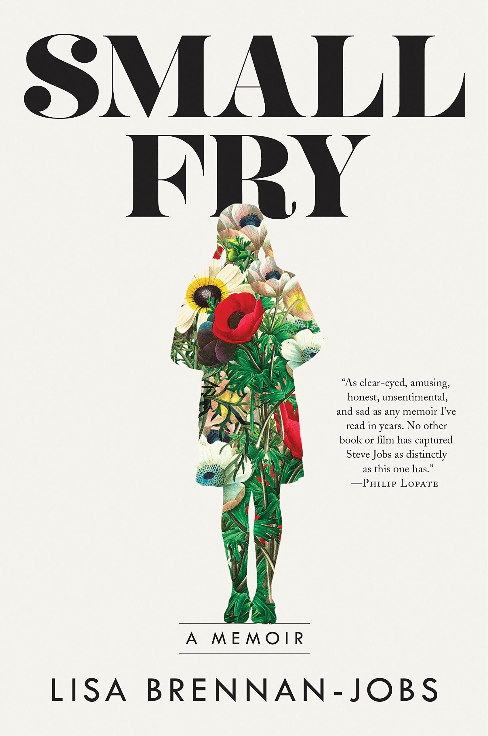 Lisa Brennan-Jobs, <em>Small Fry</em>, design by Alison Forner (Grove Press)