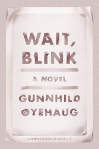 Gunnhild Øyehaug, Wait, Blink: A Perfect Picture of Inner Life